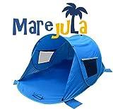 Utility Design Pop Up Strandmuschel Marejula Family UV 60+; Sonnenschutz für die ganze Familie