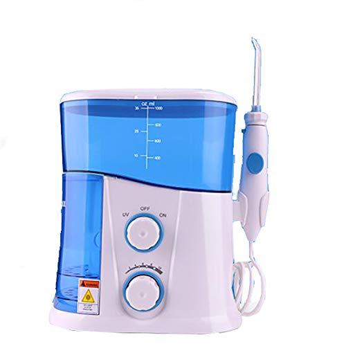 XHH-Munddusche Wasser Flosser Mit 1000ML Wassertank 7 Multifunktions Düsen 10 Druckeinstellungen Für Ganze Familie