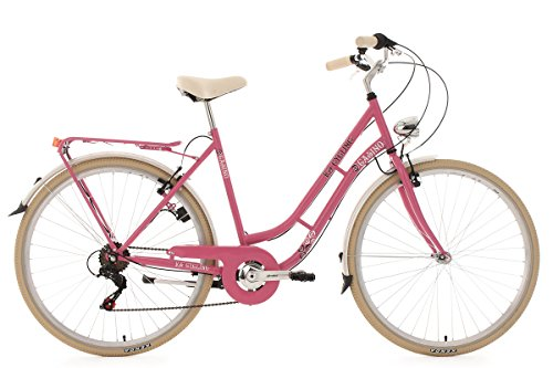 KS Cycling Damen Fahrrad Casino 6 Gänge RH 54 cm pink, 28 Zoll