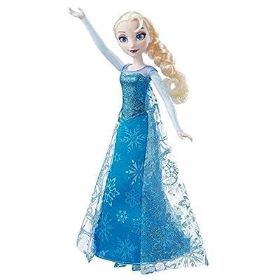 Disney Frozen - Muñeca Elsa Canta y Brilla (Hasbro B6173105) de Hasbro