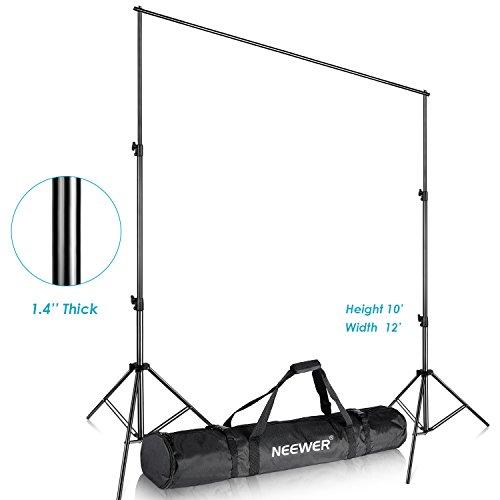 M x 3.6M Pro Fotografie Studio Video Einstellbare Kulisse Unterstützungssystem Ständer mit Tragetasche für Hintergrund-Hintergrund ()
