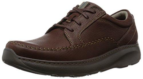 Clarks Charton Vibe Herren Derby Schnürhalbschuhe Braun (Brown Leather)