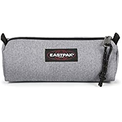 Eastpak Benchmark Single Estuche para lápices, 20.5 cm, Gris (Sunday Grey)