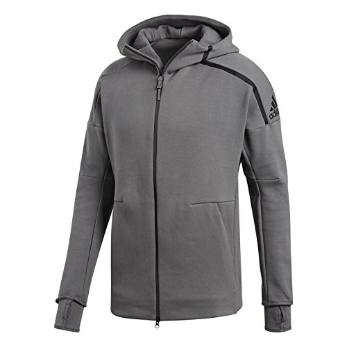 los angeles 65483 4f534 ADIDAS PERFORMANCE Veste ZNE Hoody 2 sweat, homme, gris (gricua) XXL