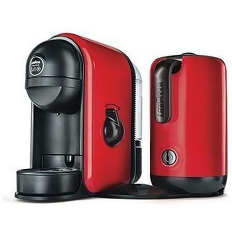 Macchina per Caffè Lavazza MINU\' CAFFELATTE per Capsule capacità della tanica 0,5L di colore Rosso