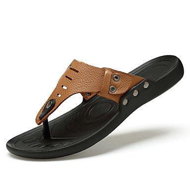 Estate Autunno Uomo freddo Moda Sandali e amp; flip-Flopss per cuoio genuino dei sandali Casual S sandali US10 / EU43 / UK9 / CN44
