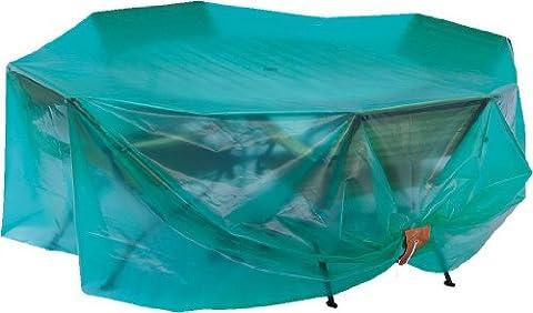 Maillesac JP0013 Housse pour Mobilier de Jardin Plastique Vert Translucide 26 x 19 x 5 cm Taille 1