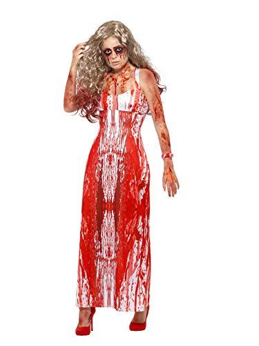 Damen Kostüm blutige Zombie Ballkönigin Halloween Gr.S