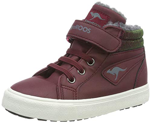 KangaROOS Unisex Baby KAVU III Sneaker, Violett (Dk Berry 6006), 23 EU