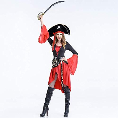 Kostüm Verführerisch Piraten - QIAO Halloween Kostüm Piraten Kostüm Cosplay