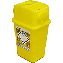 Qualicare seguro para objetos punzantes aguja jeringa insulina eliminación cirugía papelera caja ...