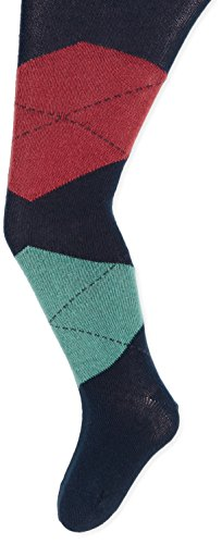 Tommy Hilfiger Jungen Sport Legging TH KIDS BLOWUP ARGYLE TIGHTS 1P, Gr. 134 (Herstellergröße: 134/140), Blau (midnight blue 563)