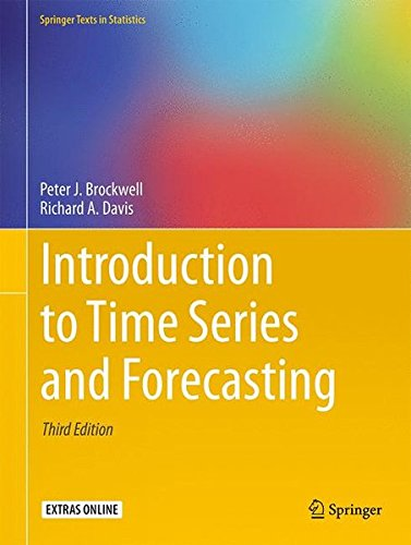 Introduction to Time Series and Forecasting (Springer Texts in Statistics) por Peter J. Brockwell