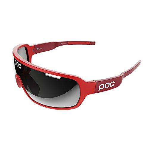 POC DO Blade Sonnenbrille, Unisex Erwachsene Einheitsgröße Rot (Bohrium Red)