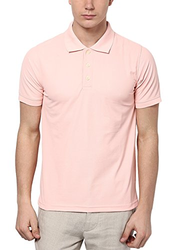 American-Crew-Mens-Polyester-Polo-Pink