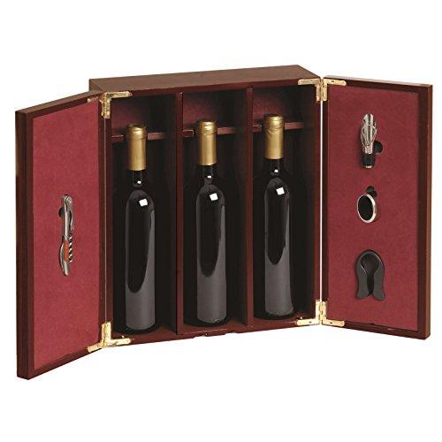 Renoir - Cassetta Sipario in legno verniciato marrone porta 3