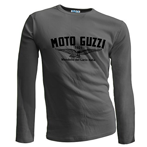 Tee-Shirts4U Herren T-Shirt, Logo Gr. M, anthrazit