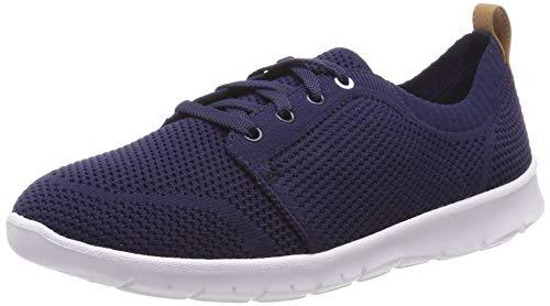 Clarks Step Allenasun, Zapatillas para Mujer, Azul (Navy-), 35 EU