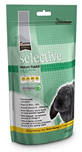 Science Selective Mature Rabbit Food 350g by Supreme Science Selective