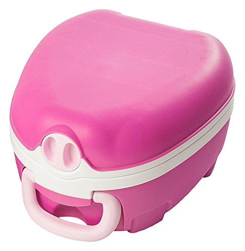 My Carry Potty Töpfchen / Reise Toilette tragbar + auslaufsicher, pink