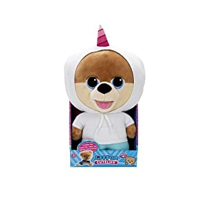 Jiffpom JP-22603-U Cutelife - Unicornio de Peluche, Color Blanco