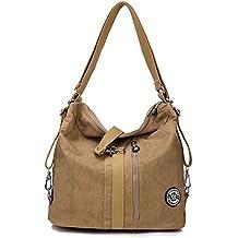 Outreo Bolso Bandolera Mujer Bolsos de Moda Impermeable Mochilas Bolsas de  Viaje Sport Messenger Bag Bolsos c6f3233a9cd7