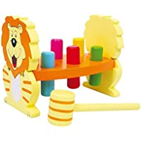 Legler Hammer Bench Lion Preschool Learning Toy