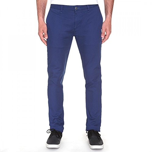 Pantaloni Volcom Frickin Tight Chino Matured Blu (34 Vita = Eu 50 , Blu)