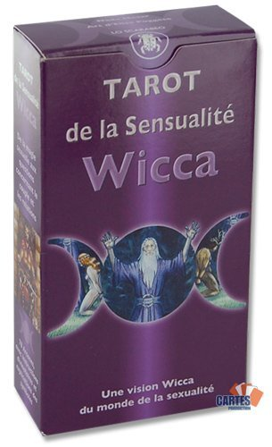 Jeu de 78 cartes : Tarot de la Sensualité Wicca