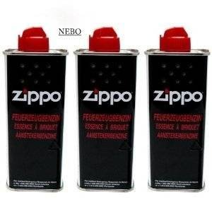 Feuerzeugbenzin ZIPPO 3x Zippo Benzin Original Benzin je 125 ml