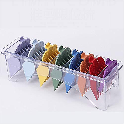 Generic Lot de 8 peignes colorés pour tondeuse électrique WHAL