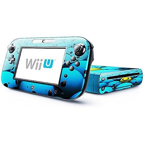 Colección 145, Custom Consola Nintendo DS Lite, 3DS, 3DS XL, Wii U Diseño Pantalla Skin Protector Funda Abstrakt 10132 Nintendo Wii U