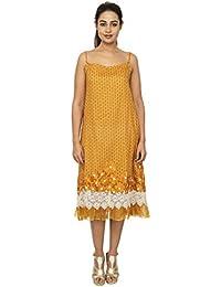 Rina Dhaka Women's A-Line Midi Dress