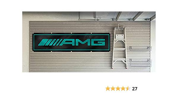 Dimike Amg Flagge Mercedes Benz Car Racing 60 X 2 4 M Banner Garten