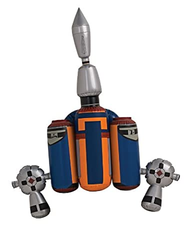 Star Wars - Jango Fett Jet Pack Kostümzubehör, aufblasbar, für Fasching und Mottoparty (Wookie Jedi Kostüm)
