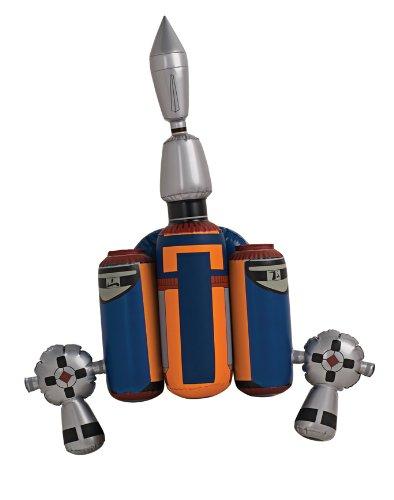 Kostüm Atat (Star Wars - Jango Fett Jet Pack Kostümzubehör, aufblasbar, für Fasching und)