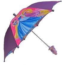 Disney Princess chica MemoryCapital paraguas - 3D Rapunzel mango
