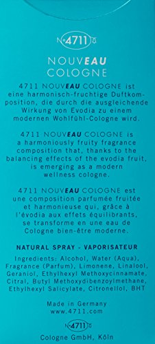 4711 Nouveau Cologne Eau De Cologne Spray, 100.55 ml