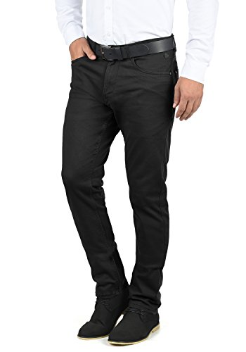 Blend Saturn Herren Chino Hose Stoffhose Aus Stretch-Material Regular Fit, Größe:W32/30, Farbe:Black (70155)