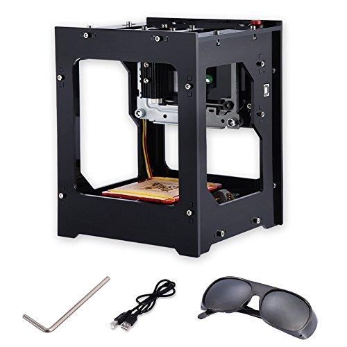 Máquina de Grabado 1500mW Impresora Láser Grabadora DK-BL USB Inalámbrico Bluetooth 4.0 para PC / IOS / Android / Pad DIY Arte Craft Herramienta de Impresión 550x550 de Alta Resolución