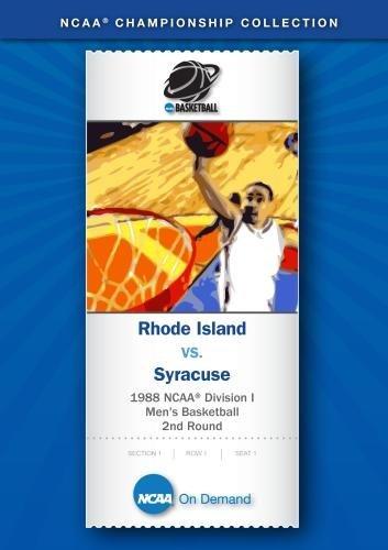 Preisvergleich Produktbild 1988 NCAA(r) Division I Men's Basketball 2nd Round - Rhode Island vs. Syracuse