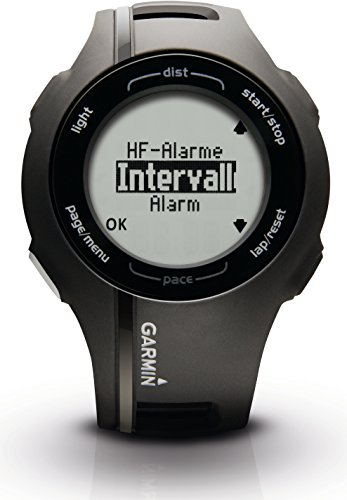 Garmin GPS Laufuhr Forerunner 210 HR – GPS Trainingscomputer inkl. Brustgurt - 4