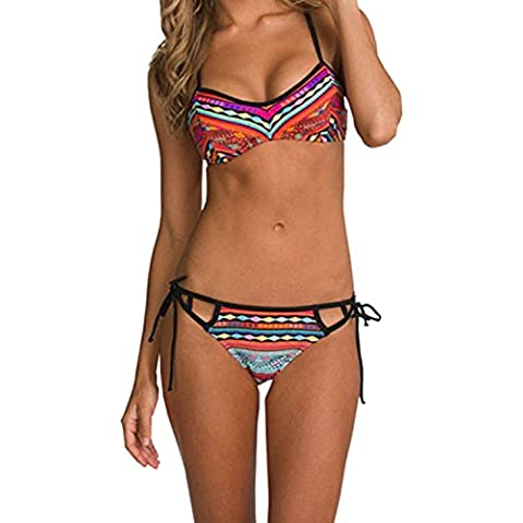 Minetom Donne Estate Costumi Da Bagno Sexy Bikini Nuovo Costume Da Bagno Beachwear Moda Tuta