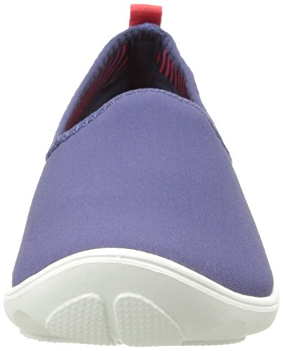Crocs Duet Busy Day Skimmer, Mocassins femme Bleu (Nautical Navy/White)