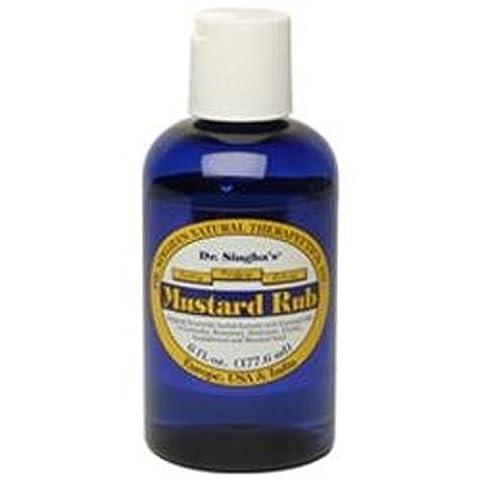 Dr. Singhas Mustard Bath Mustard Rub, 6 Oz by Dr. Singhas Mustard Bath