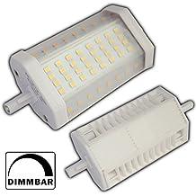 Foco LED 14W R7s 118mm regulable luz blanca cálida Bombilla Lámpara un J118halógena Flood luz lámpara bombillas