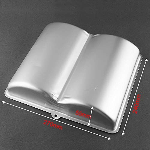 SULUO Aluminum Alloy Big Book Shaped Pan Tin Cup Cake Baking Bakeware Kids Birthday Party Tray Mould Kitchen Tools Accessories,A (Big-muffin-tin)