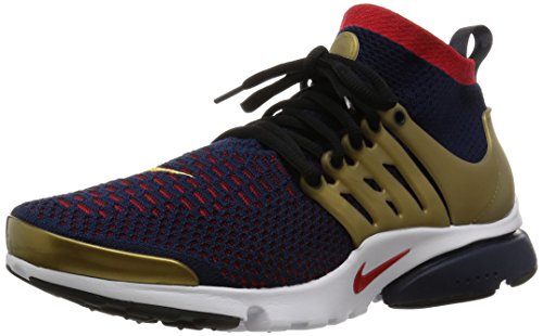 new style 6bafb 740fb Nike Air Presto Flyknit Ultra, Men s Running Shoes, Azul (College Navy Comet  Red-Metallic Gold), 7.5 UK (42 EU) - Buy Online in Oman.   Shoes Products  in ...