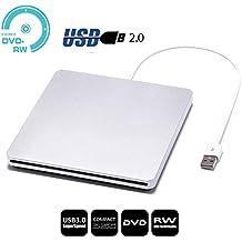 USB Slot externe DVD VCD CD RW Burner Superdrive Graveur de CD pour Apple Macbook Pro Air iMAC