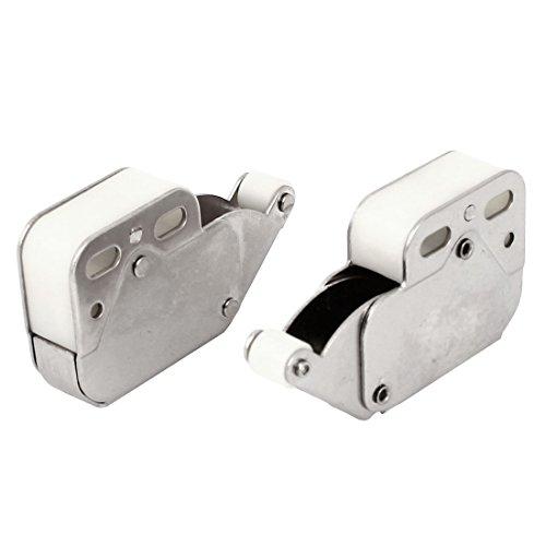 sourcingmap® Press offenen Tür Catch Spitze Touch Push-Verschluss für Kabinett-Schrank, 5-teilig (Teil Verschluss)